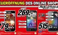 Mediamarkt Online-Shop: Smartphone Angebote zur Eröffnung