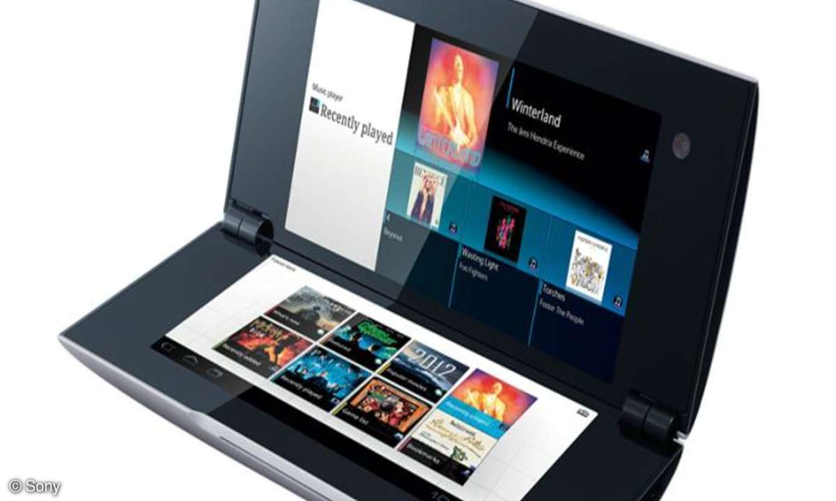 Sony Tablet P im Test