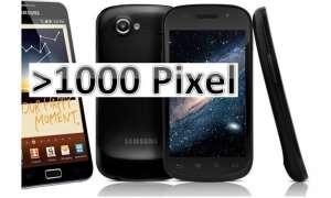Super-hochauflösende Smartphones im Überblick