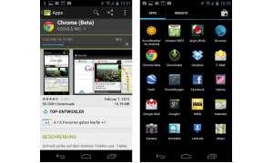 Google Chrome für Android ausprobiert