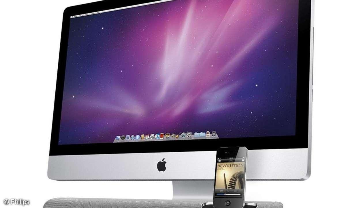 Philips mit schlankem Dock für Apples iPhone