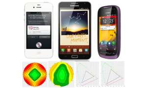 Top-Smartphones im Display-Check