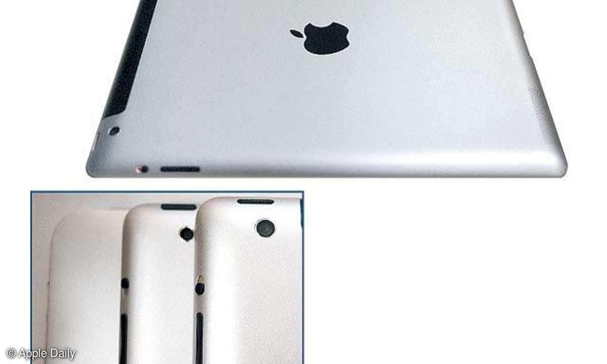 iPad 3 mit A5X-CPU und iPhone-Kamera?
