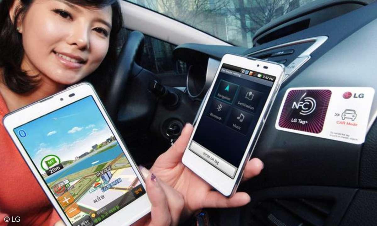 LG bringt LTE-Smartphone mit NFC