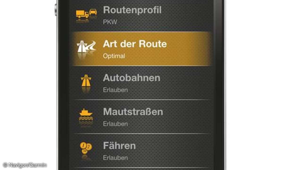 Navigon bringt Update seiner iPhone-App