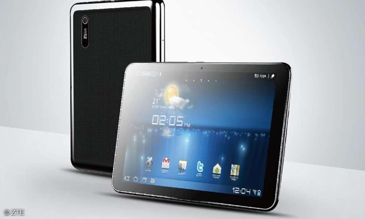 ZTE Tablet, Tablet mit Quadcore-Prozessor