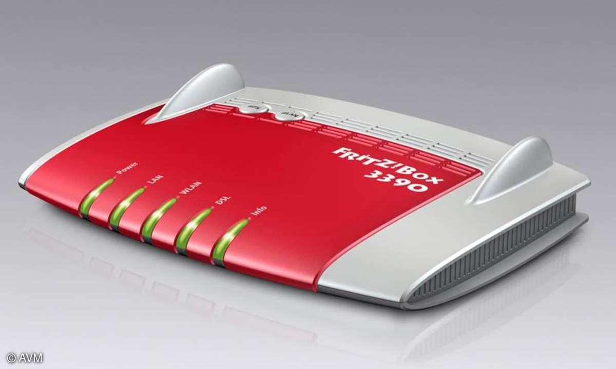 AVM stellt zwei neue Fritzboxen vor