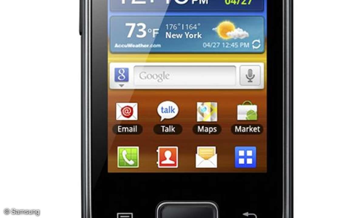 Samsung Galaxy Pocket: Der neue Einsteiger-Androide