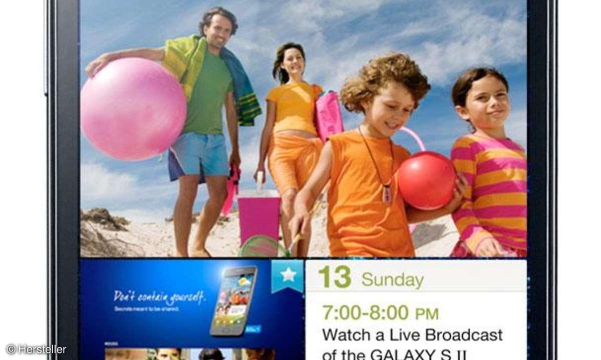 Samsung Galaxy S2: Update auf Android 4.0