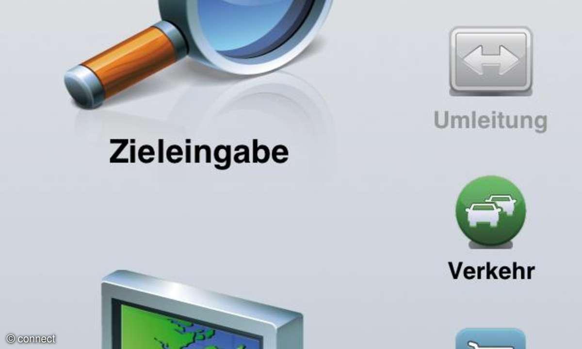 Garmin Westeuropa-App fürs iPhone