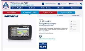 Aldi-Nord: Medion-Navi ab 15. März im Angebot
