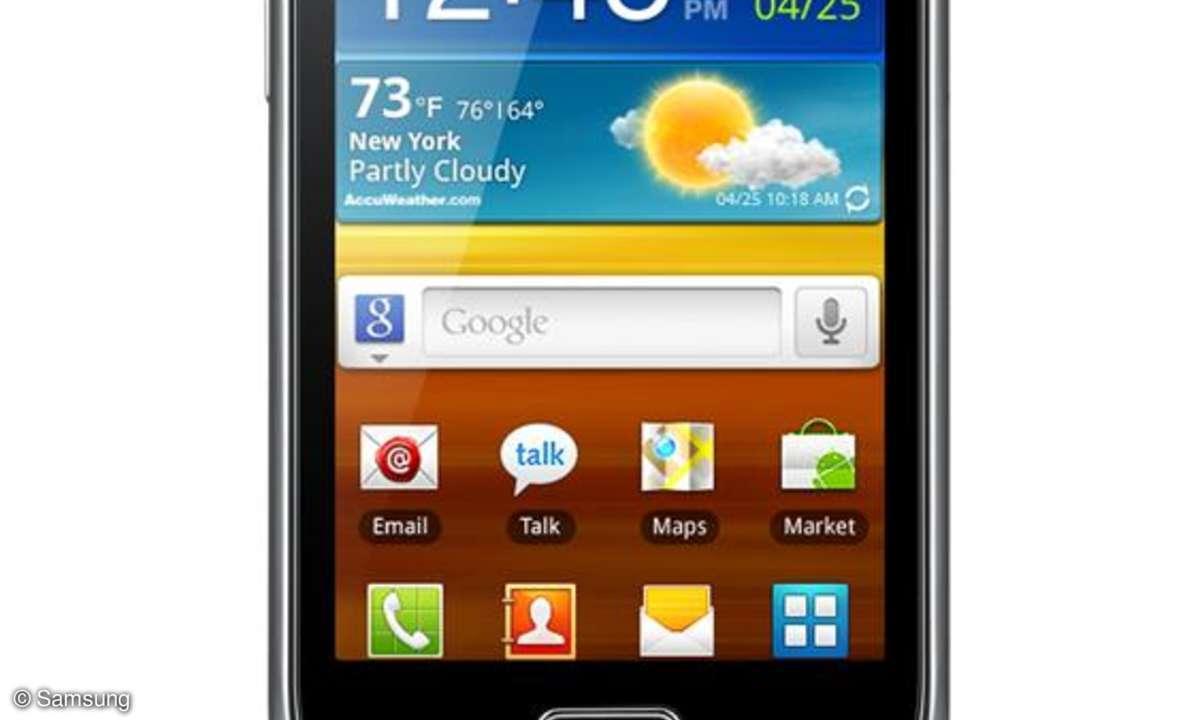 Samsung Galaxy Mini 2 - Marktstart steht bevor