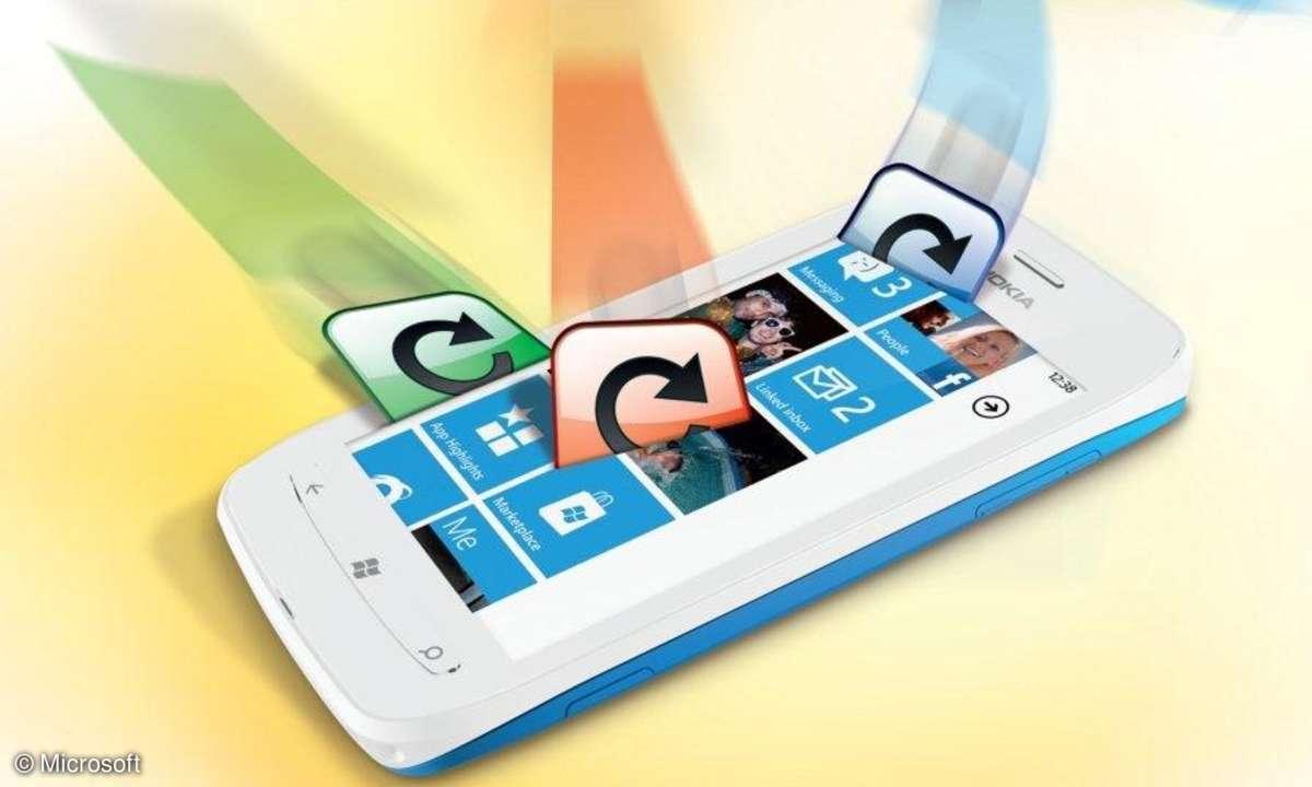 Windows Phone 7.5 - Die Features