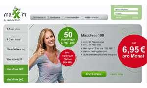Maxxim MaxxFree 100, Maxxim, Flat-Paket