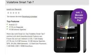 Vodafone bringt Android-Tablet Smart Tab 7