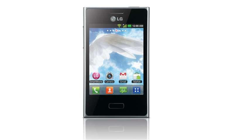 lg bringt g nstiges android smartphone optimus l3 nach. Black Bedroom Furniture Sets. Home Design Ideas