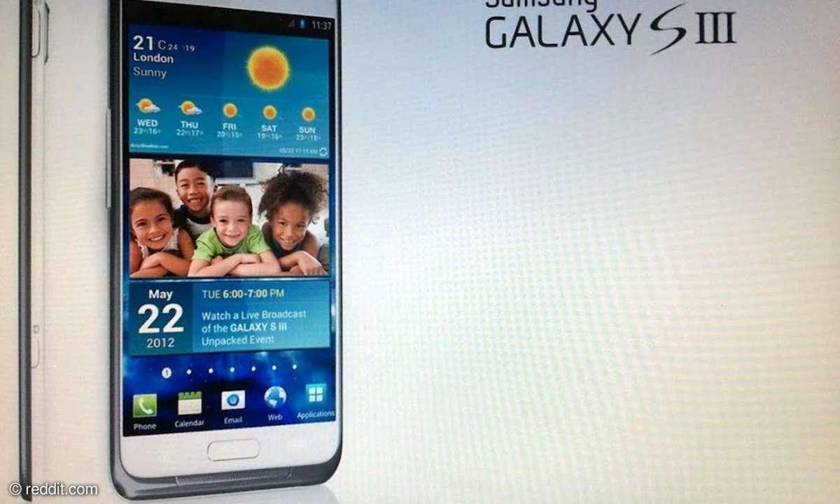 Samsung Galaxy S3 Fake oder nicht