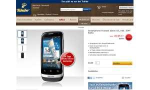 Tchibo-Schnäppchen: Huawei Ideos X3 für 49,95 Euro