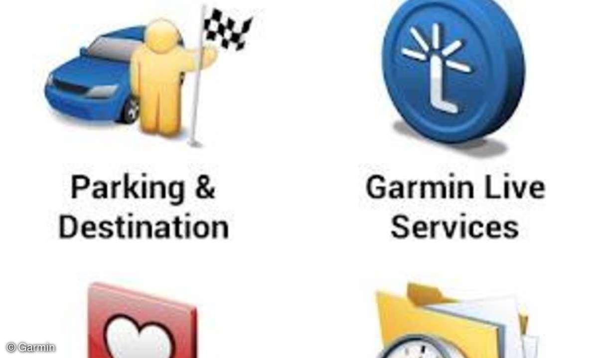 Garmin bringt Live App und neues Navigerät