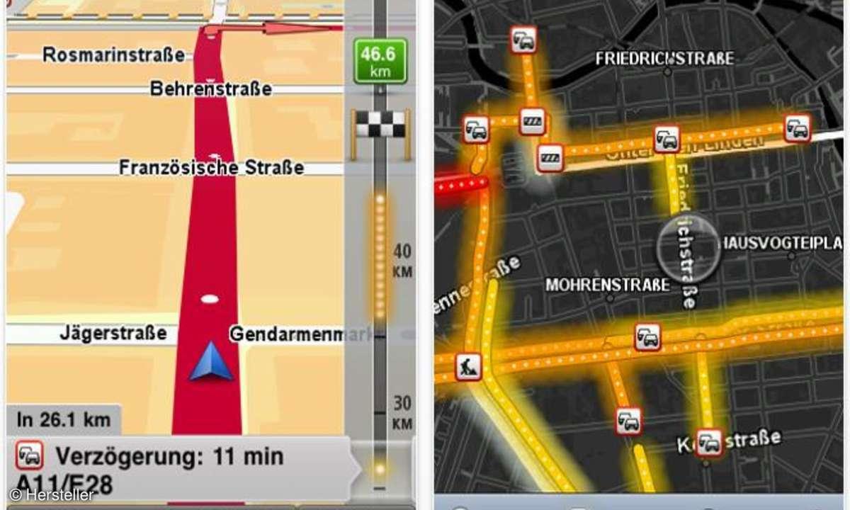 TomTom Navigationsoftware fürs iPhone