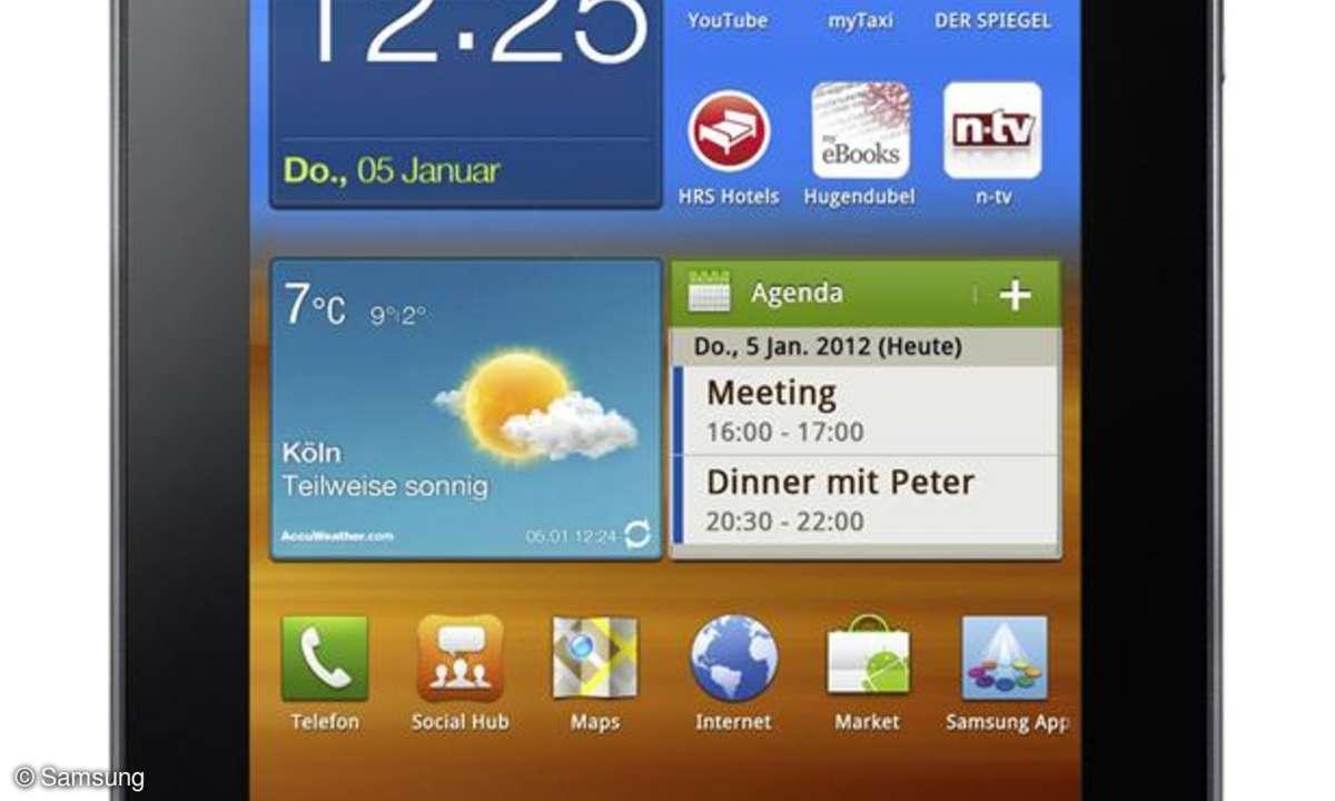Galaxy Tab 7.0 Plus N im Praxistest
