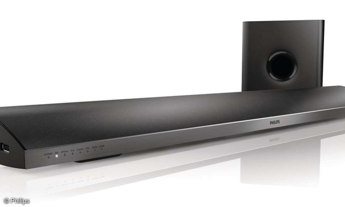 Das Philips CSS5123 ist ein Homecinema Soundbar speziell für Android-Phones und Tablets