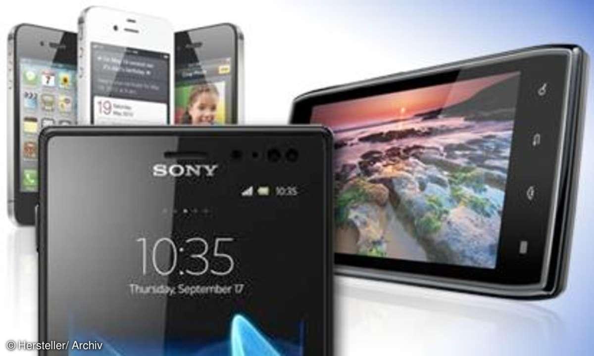 Top 5 hochwertige Smartphones