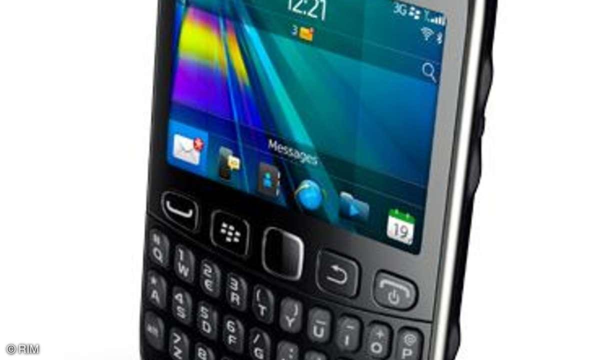 RIM kündigt Einsteigermodell Blackberry Curve 9320 an