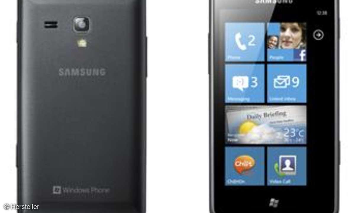Omnia M: Neues Windows Phone von Samsung