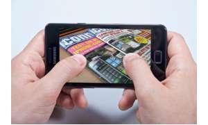 Kippzoom beim Samsung Galaxy S2