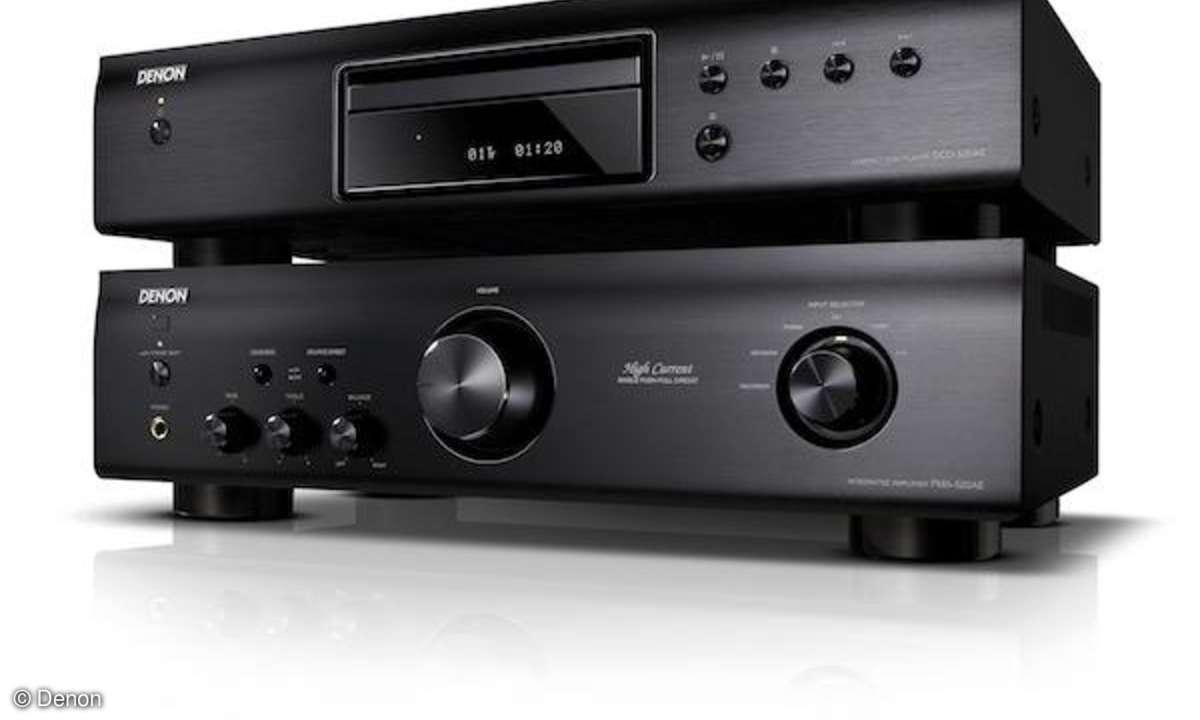 Denon stellt zwei neue Stereo- Komponenten-Einsteigermodelle vor