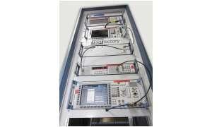 Simulierte Basisstation CMU200 von Rohde & Schwarz in der Testfactory.