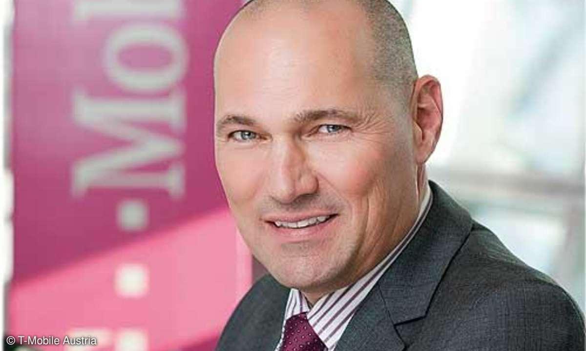 Rüdiger Köster, Geschäftsführer IT und Technik, T-Mobile Austria