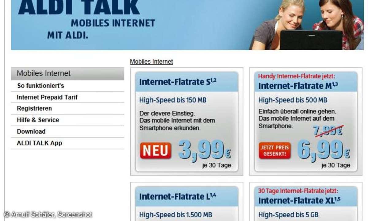 Aldi Talk Internet Flat