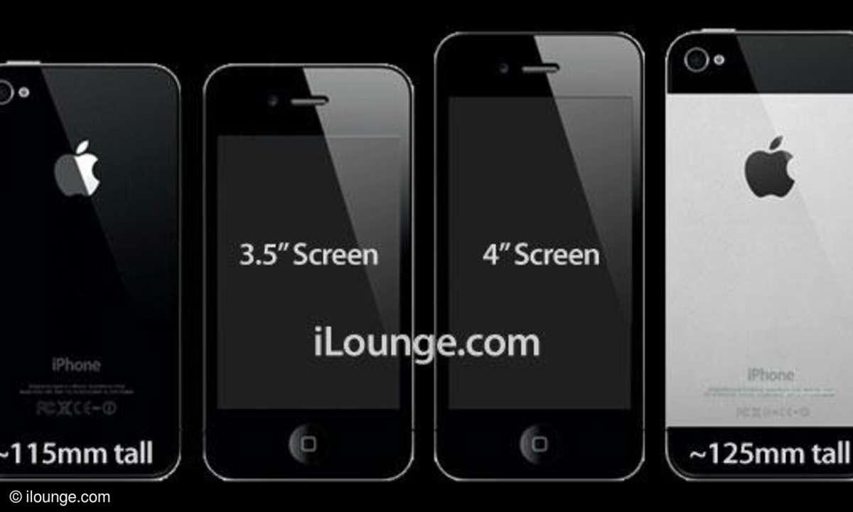 iPhone 5 bekommt 4-Zoll-Display