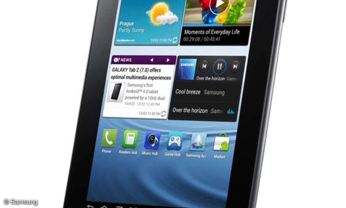 Samsung Galaxy Tab 2, Samsung Tab, 7-Zoll-Tab, Android