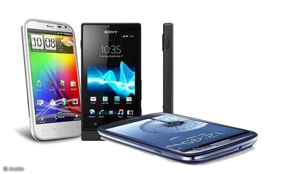 HTC One XL, Xperia Sola, Galaxy S3