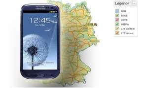 Galaxy S3 im Netzbetreiber-Check