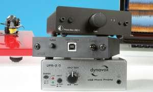 Phono-Verstärker im Test: Dynavox UPR-2.0,  Pro-Ject PHONO BOX USB V, Rega FONO MINI A2D