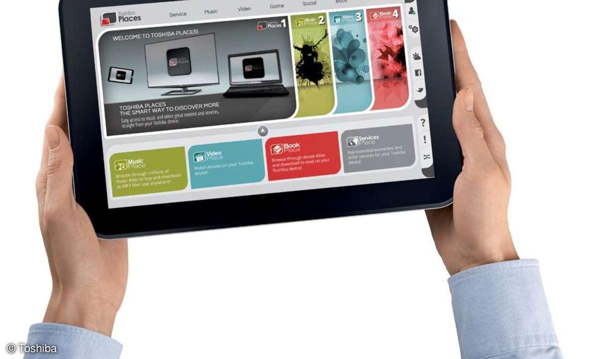Toshiba Tablet AT300 verfügbar