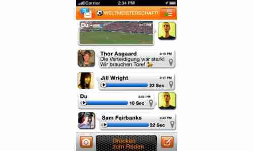 App des Tages: Voxer Walkie-Talkie PTT - connect