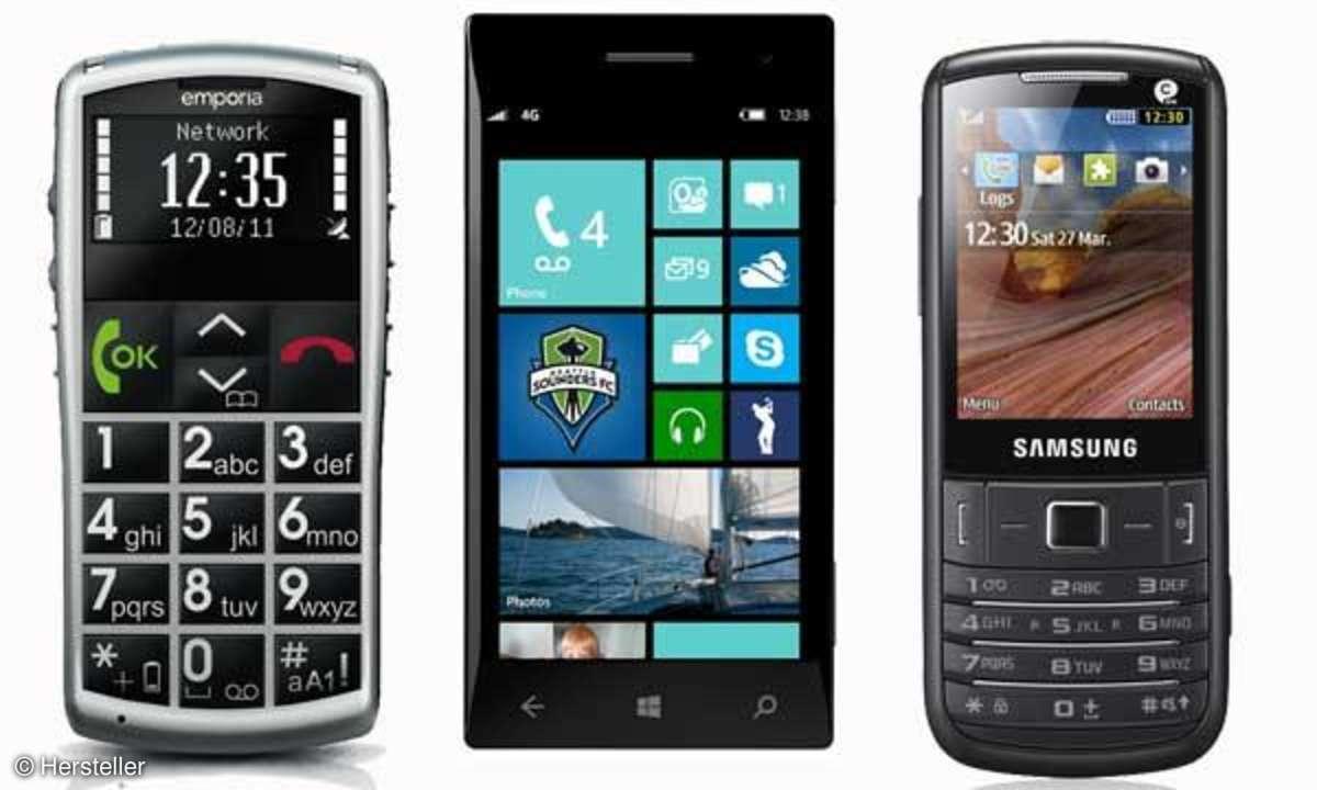 emporia talk comfort, windows phone 8, samsung 3780