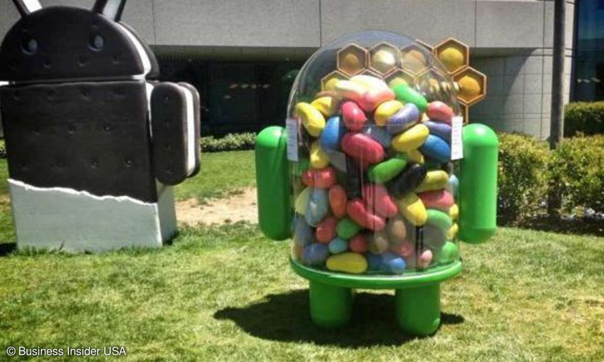 Jellly Bean, Google