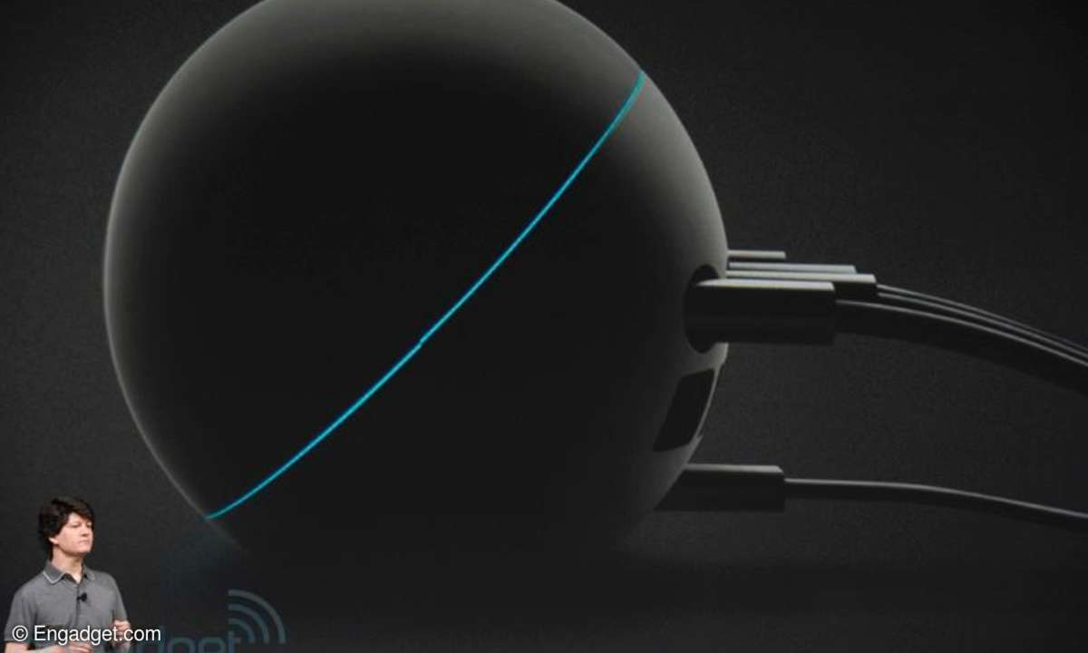 Google präsentiert den Streaming Player Nexus Q