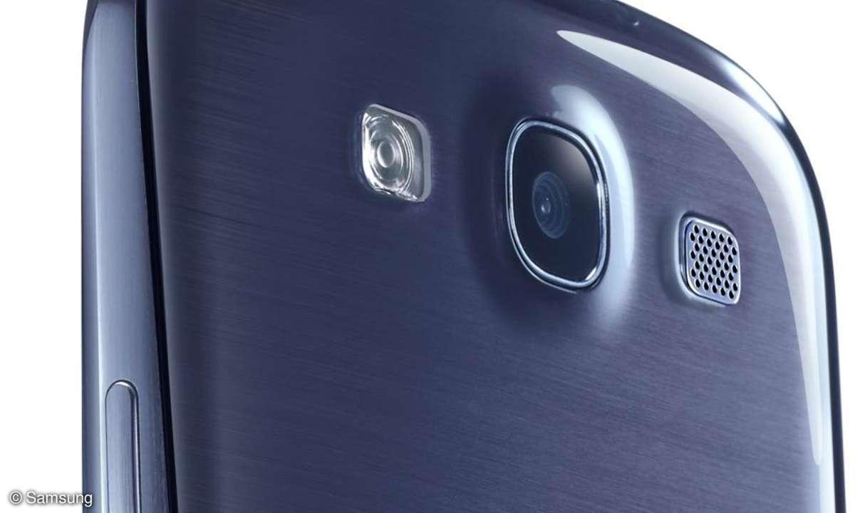 Die Kamera des Samsung Galaxy S3