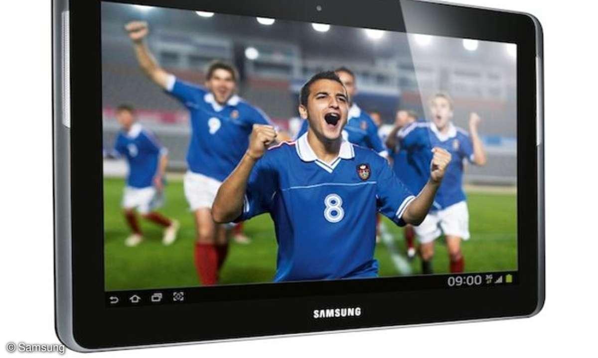 Samsung Galaxy Tab 2 jetzt bei E-Plus