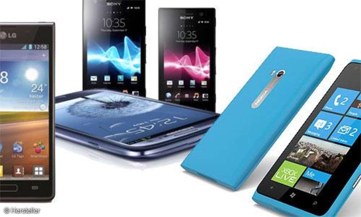 Smartphones der Woche