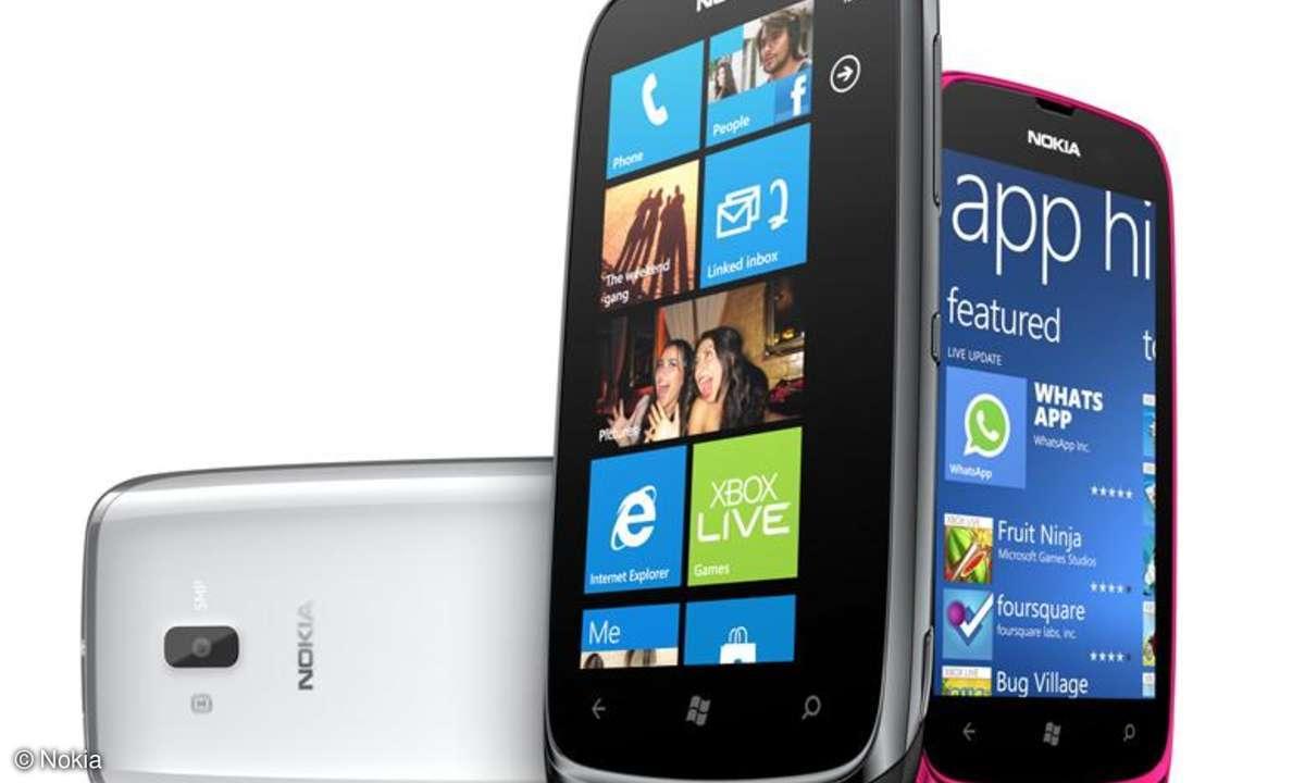 Nokia Lumia 610 im ersten Test