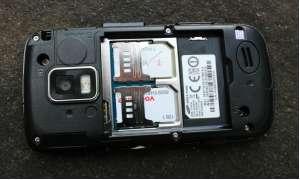 SIM-Schächte des Samsung GT-B7722i