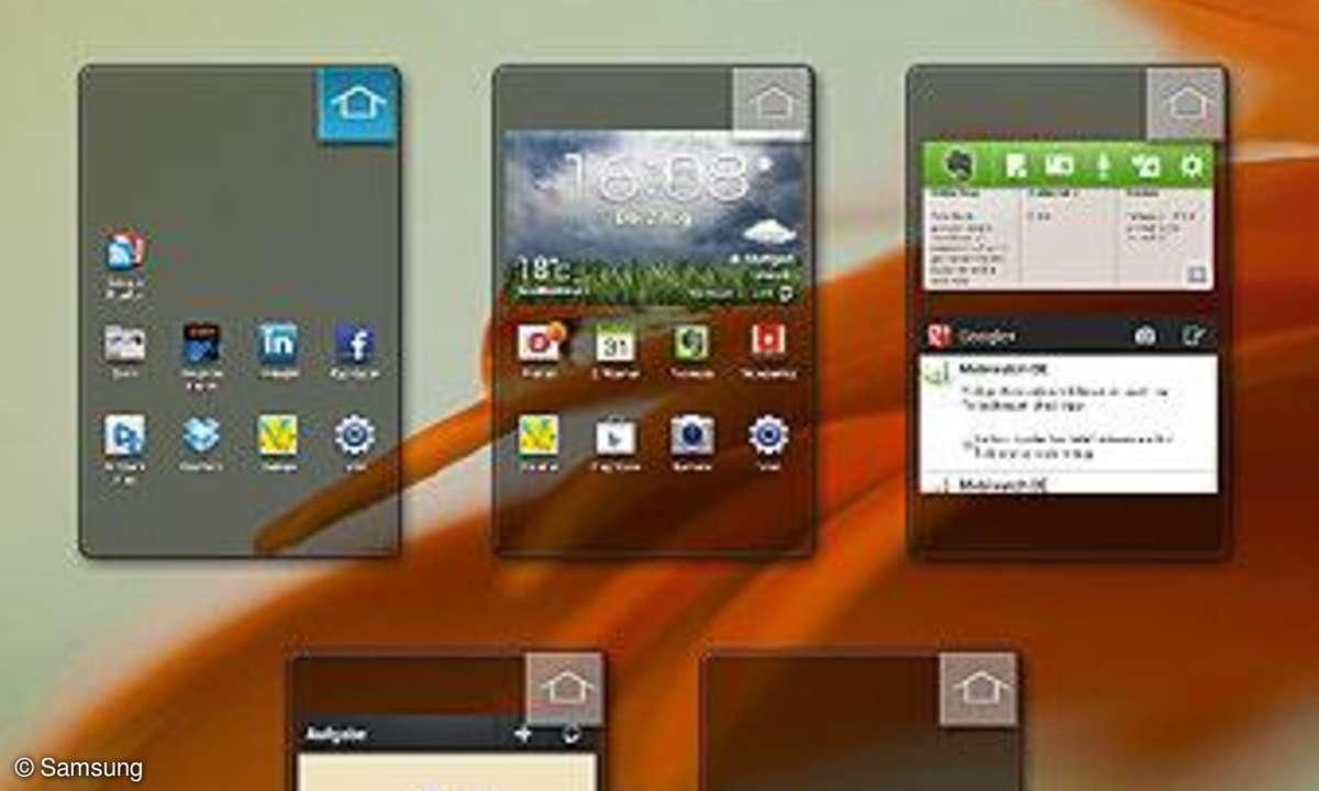 Galaxy S3: Standard-Startbildschirm ändern
